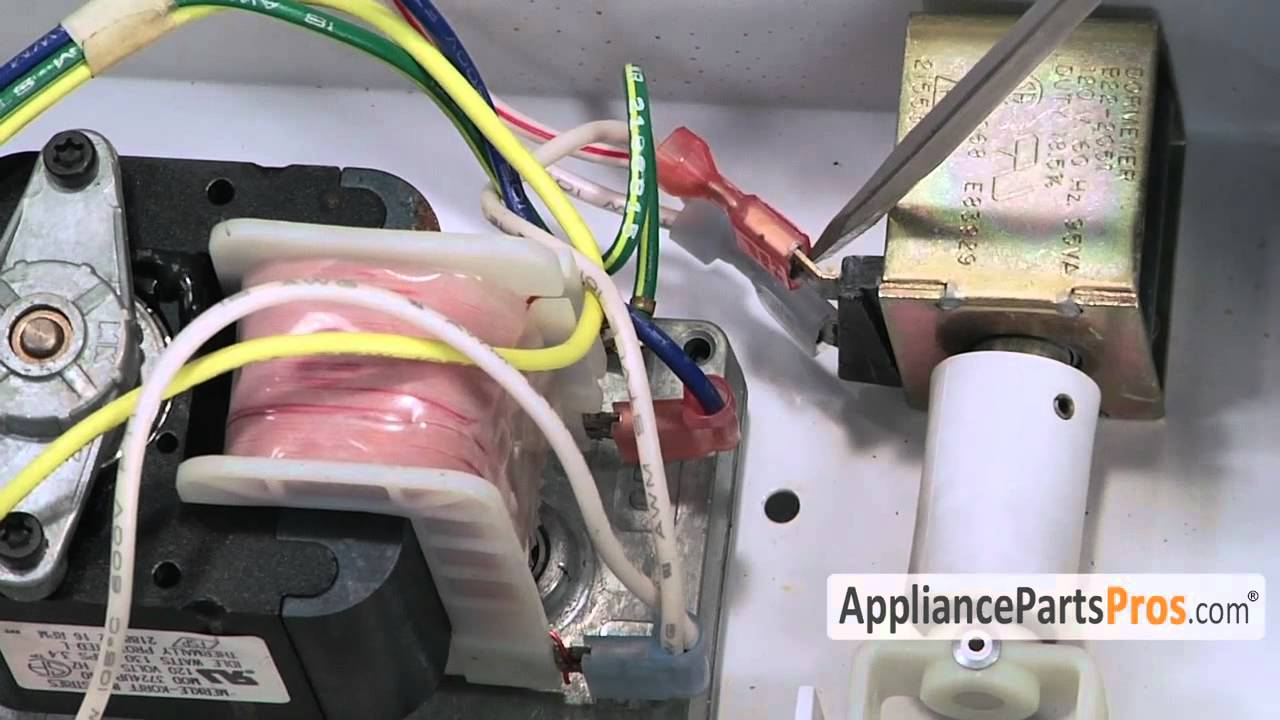 Refrigerator Solenoid How To Replace Youtube