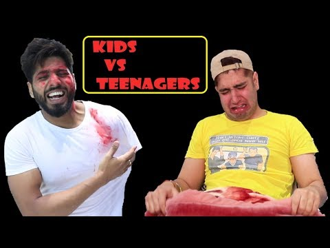 KIDS vs TEENAGERS || JaiPuru
