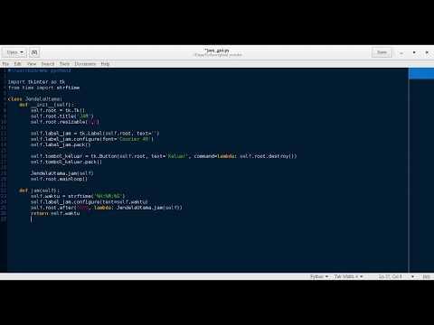 Membuat Aplikasi Gui Dengan Python