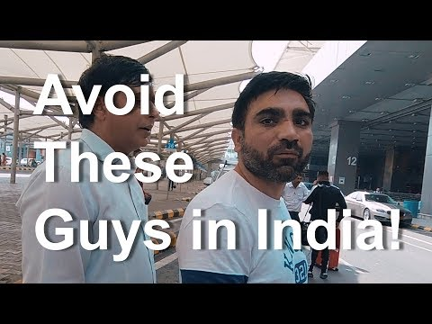 Avoid These Guys in India (& Get To Your Hotel Safely!)
