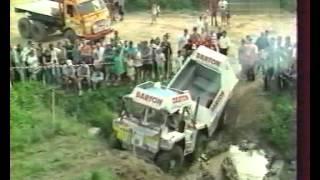 Europa Truck Trial 29 in 2000. Gama-Goat, Tatra 8x8, Praga.