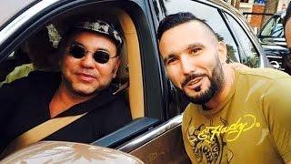 رضا الطالياني  يحكي قصة صورته مع الملك بطريقة مضحكة