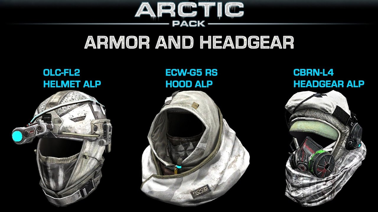 Ghost Recon Online  Arctic Pack Armor and Headgear  YouTube