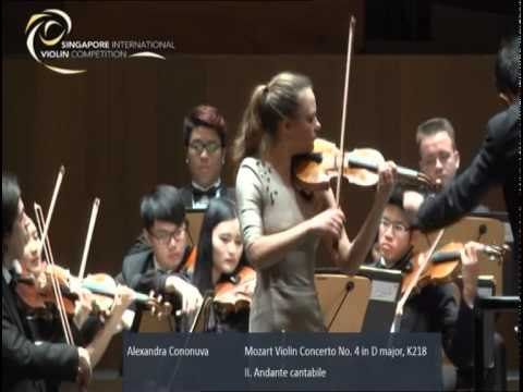 Singapore International Violin Competition Finals 18 Jan 2015 - Session 1