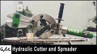 Making hydraulic cutter and spreader