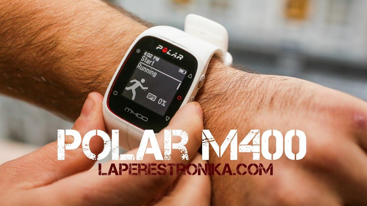 f18805b631a4 Review del reloj deportivo Polar M400 con GPS y pulsómetro - YouTube