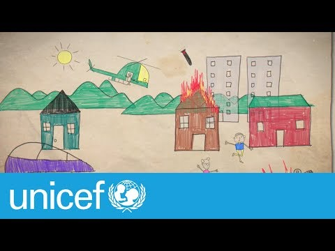 Pictures no child should draw | UNICEF