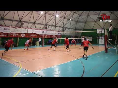 Pallavolo maschile serie C, Diavoli Rossi Nicosia-Ecoplast Volley Gela 3-1