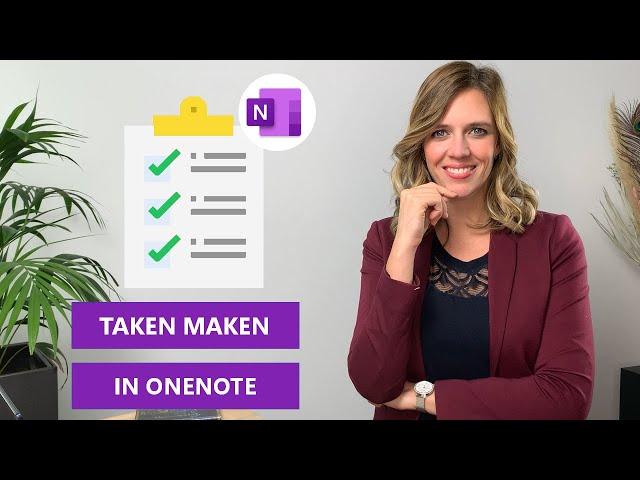 Taken maken met OneNote | Hoe werkt het?