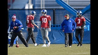 Will the New York Giants play Davis Webb at all in 2017?