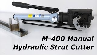 M-400 Manual Hydraulic Strut Cutter from Stainelec Hydraulic Equipment