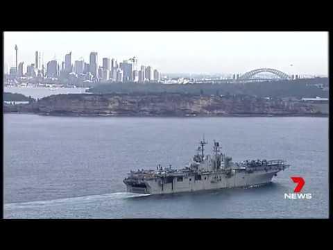 LHD Bonhomme Richard arrives Sydney, report