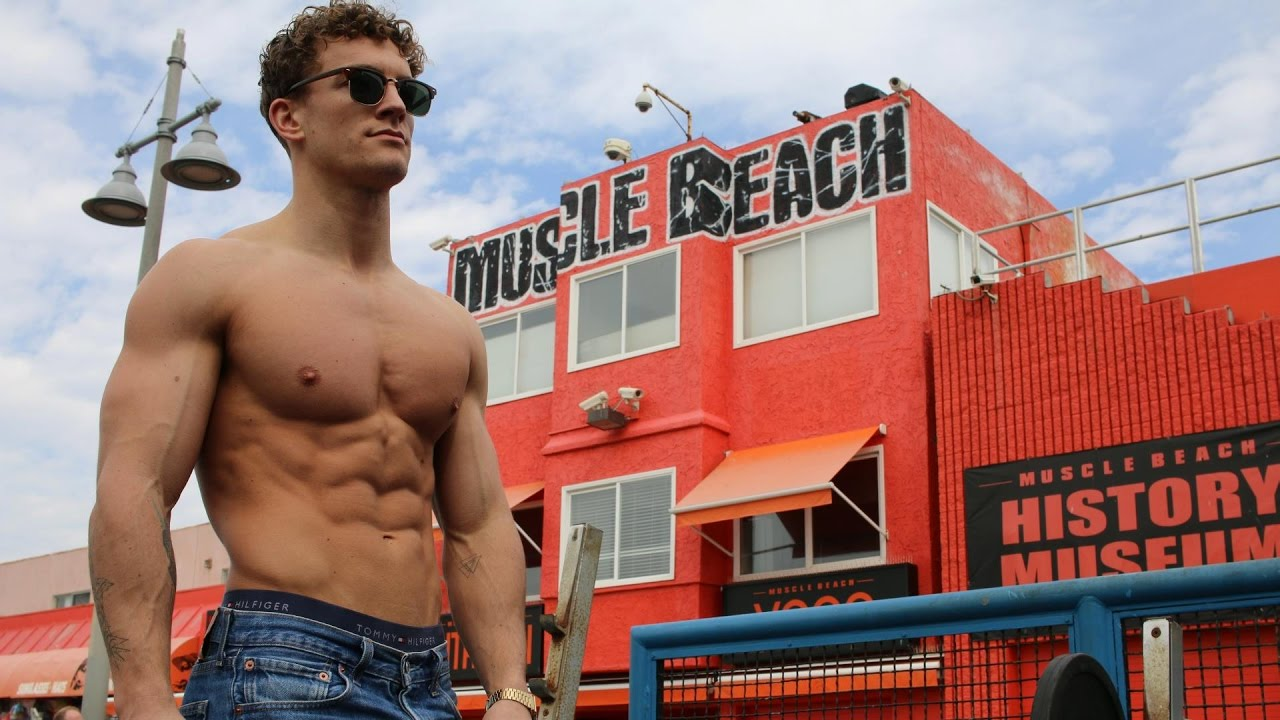 Vlog 57 Arriving In L A Muscle Beach Workout