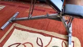 видео Скамья для жима лежа