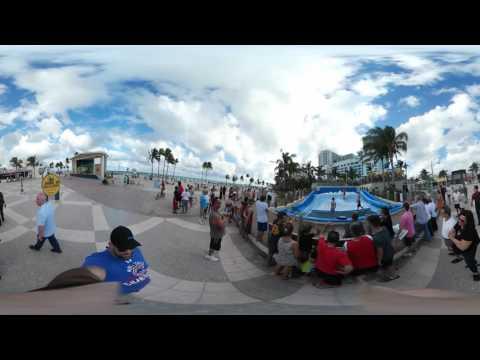 360° Hollywood Beach Boardwalk