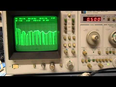 GBPPR Vision #14: Radio Shack Discone Antenna Frequency Response