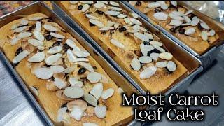 Moist Carrot Loaf Cake ( super moist )