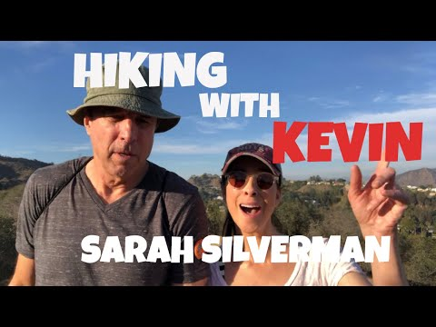 HIKING WITH KEVIN  SARAH  SILVERMAN   PT 1