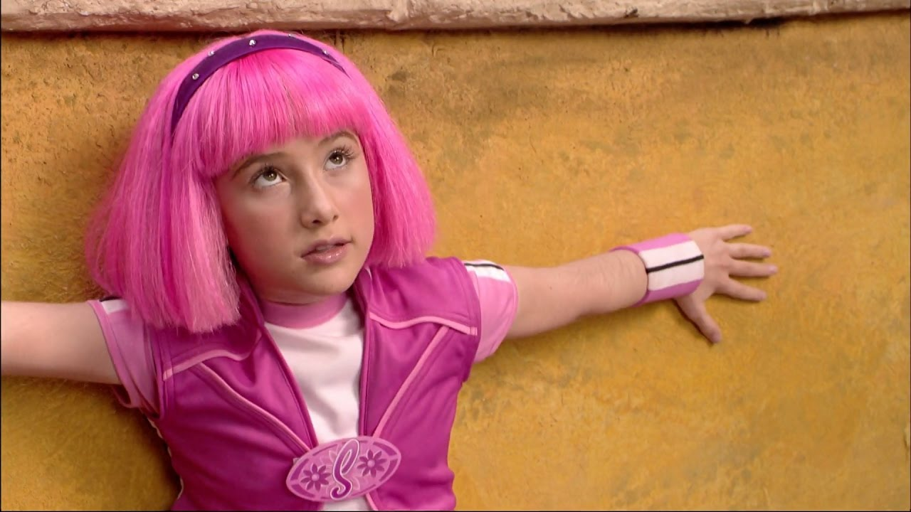 from Scott new lazy town girl