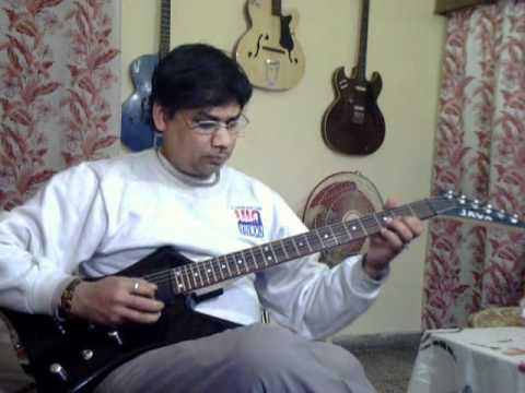 Ha Pehli baar ek ladki on Guitar