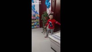 抖音超火的四世同堂挑战(4 generations under one roof challenge)