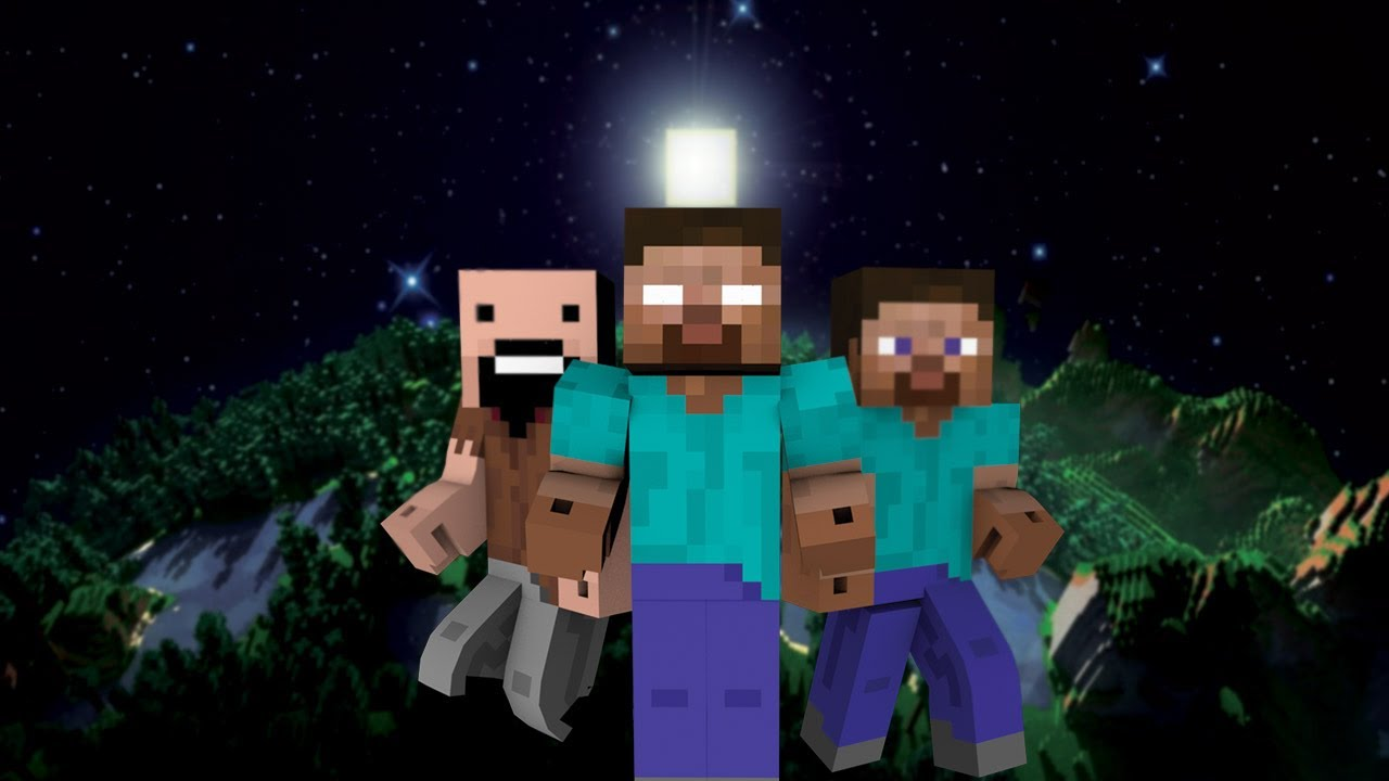 Make Cute Minecraft Wallpapers How Herobrine Was Created Minecraft Youtube