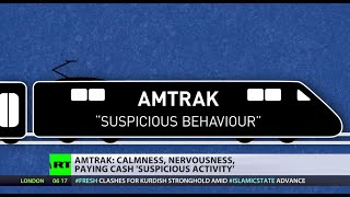 Calm? Nervous? Cash? Check! Amtrak
