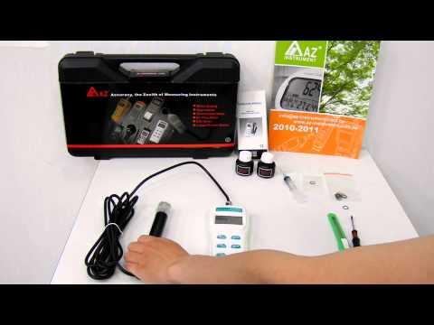 AZ 8401~03 DO probe calibration