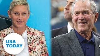 Ellen DeGeneres slammed by celebs for defending George W. Bush | USA TODAY