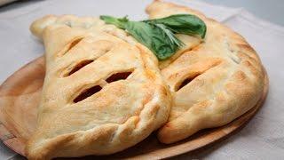 Закрытая Пицца Кальцоне с Овощами.Очень Вкусный Рецепт