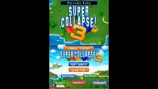 Super Collapse! 3 (2007, Nintendo DS) - 01 of 11: Fledgling Fields [720p60]