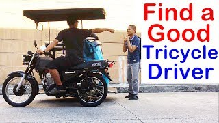 Pinoy SOCIAL EXPERIMENT: Find a Good Tricycle Driver
