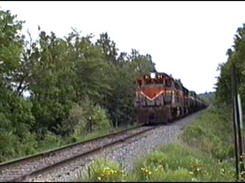 1993 Bangor and Aroostook Searsport Train