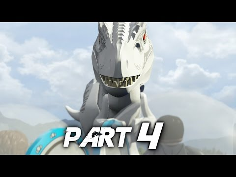 LEGO Jurassic World Video Game Walkthrough Gameplay Part 4 - The Chase (PS4) poster