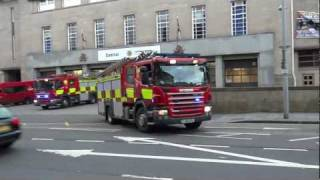 *AIRHORN* Nottinghamshire Fire & Rescue - Double Turnout From Central With Loud Horns