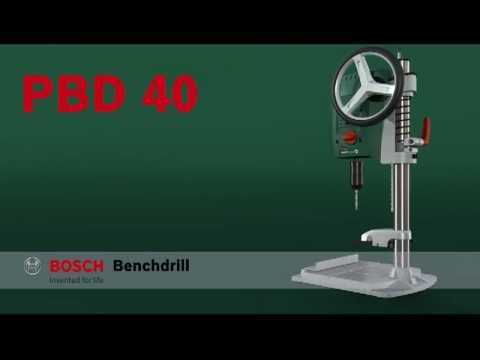 Benefits Of The Bosch Pbd 40 Bench Drill Youtube