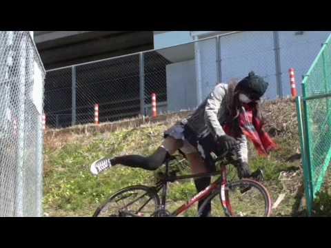 女装サイクリング 春一番