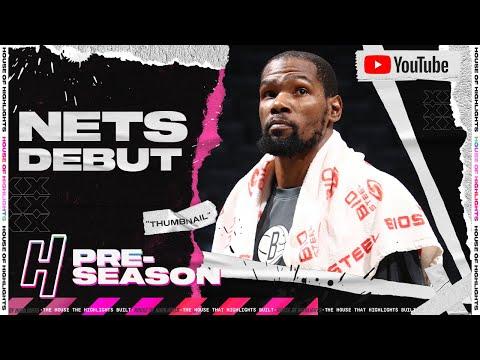 Kevin Durant NETS Debut Full Highlights vs Wizards | December 13, 2020 NBA Preseason