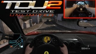 TDU2 & Logitech G27 4 Ferrari Test / Test Drive Unlimited 2 HD1080P Gameplay