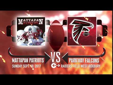 Mattapan Patriots vs  Parkway Falcons