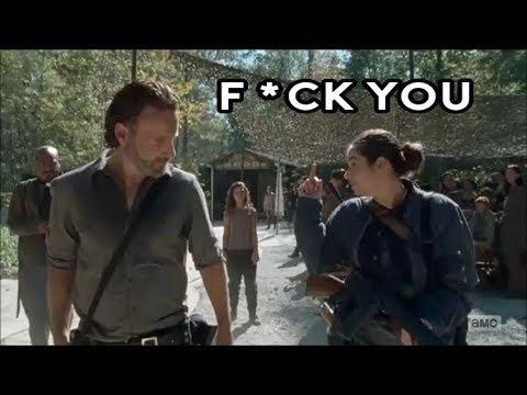 The Walking Dead || (Almost) Every Flip Off/Middle Finger Moment (Season 1 - 7)