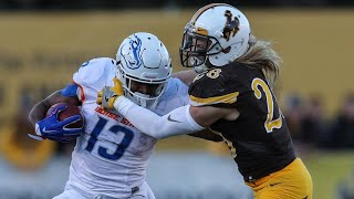 The Game That Wyoming Upset #13 Boise State (2016)