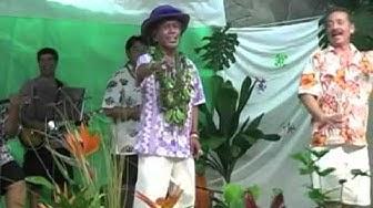 Uncle George Na'ope, Rae Fonseca, Etua Lopes Dance Hula
