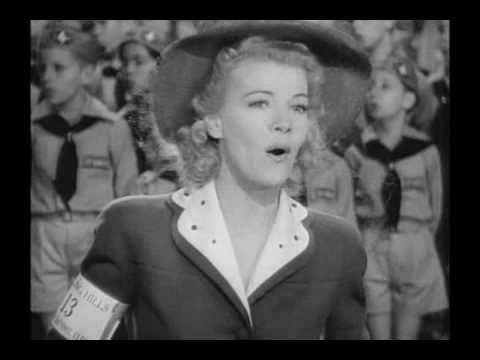 """Blondie In Society (1941) - """"Trees"""""""