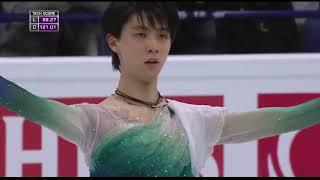Произвольная программа японского фигуриста Юдзуру Ханю на чемпионате мира 2017 в Хельсинки Здорово