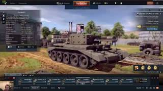 War Thunder late night gaming with music