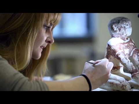 Nelson-Atkins art conservation intern uncovers ancient Information