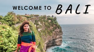 MADE IT TO BALI ☀ Seminyak, Uluwatu, Kecak Dance | Bali Travel Vlog #1 with When In City