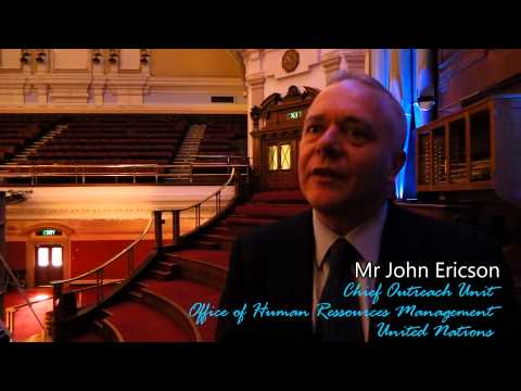 LIMUN 2013-UN Career Session: Mr John Ericson