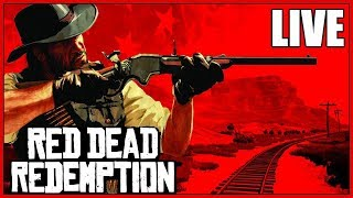 RDR1 - RED READ REDEMPTION LIVE!!! TRYING OUT ONLINE (IF I CAN) AND GAMEPLAY! XBOX ONE